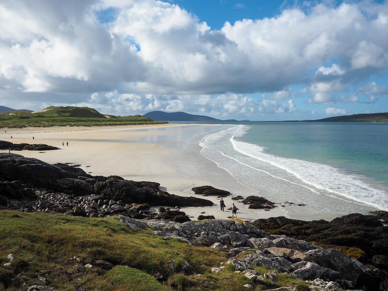 Luskentyre Beach on the Isle of Harris