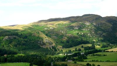 Hills around Stirling