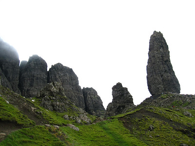 The Storr in Clear Weather