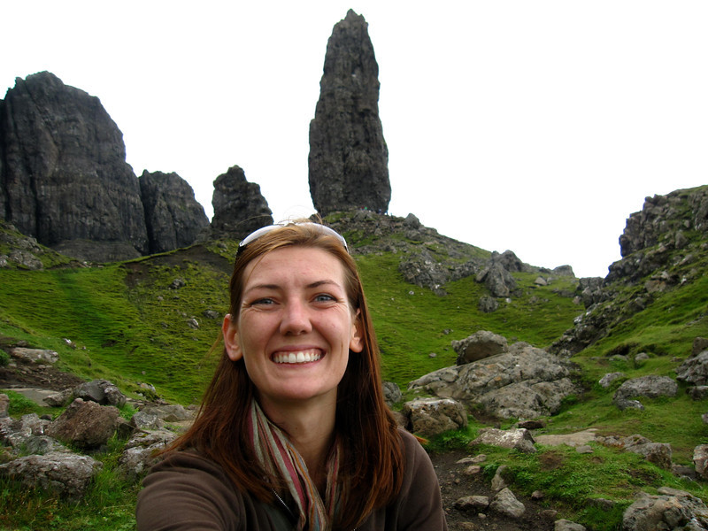 Hiking the trotternish peninsula near portree