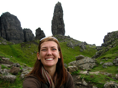 The Old Man of Storr Behind