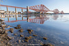 Forth Bridge, North Queensferry, Edinburgh, Lothian, Scotland.