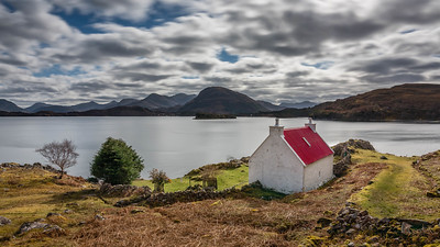 Red Roof Cottage Shieldaig, Scotland