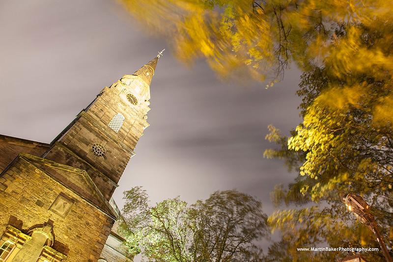 St. Cuthbert's Church, Edinburgh, Scotland.