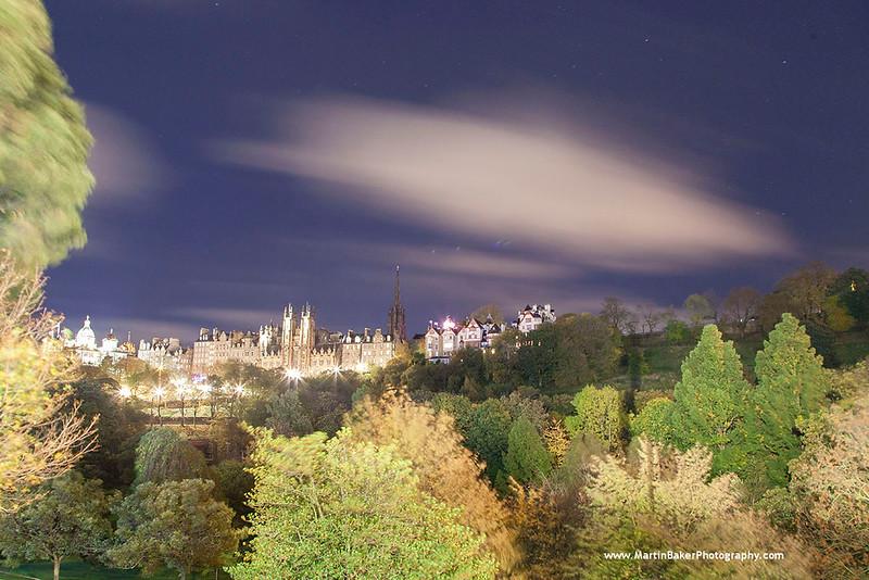 Princes Street Gardens, Edinburgh, Scotland.