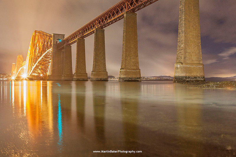 Forth Bridge, South Queensferry, Edinburgh, Lothian, Scotland.