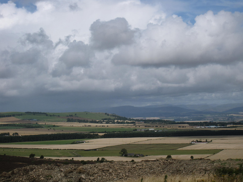 Distant View of Cairngorms National Park