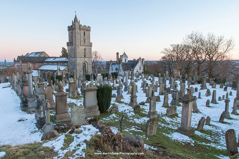 Church of the Holy Rude and Old Town Cemetery, Stirling, Scotland.
