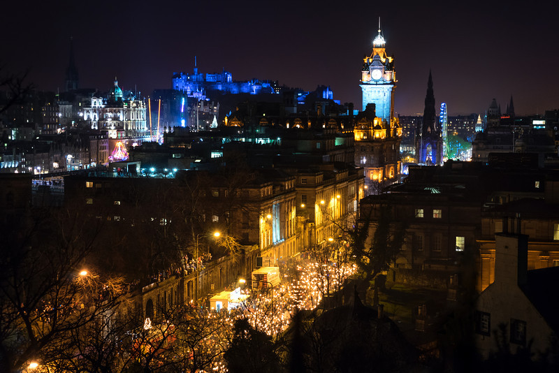 Hogmanay Torchlight Procession - Edinburgh, Scotland