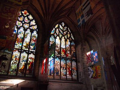 Inside St. Giles Cathedral