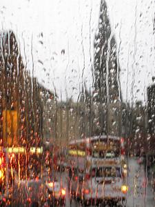 Edinburgh in the Rain
