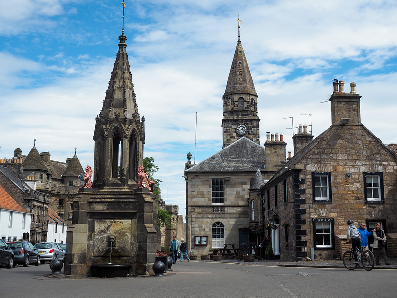 Falkland in Fife, Scotland