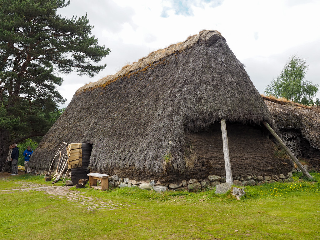 Highland Folk Museum 1700s village