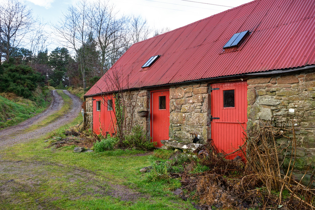 Bothy Shelter in Scotland