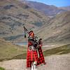 Bagpiper - Scottish Highlands