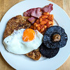 Scottish Cooked Breakfast - Edinburgh, Scotland