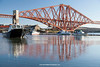 Forth Bridge, North Queensferry, Edinburgh, Lothian, Scotland.