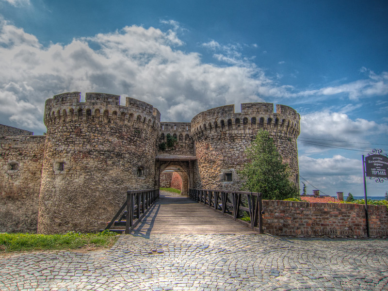 Fortress in Belgrade, Serbia
