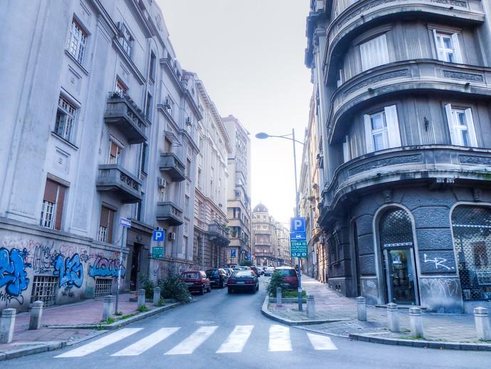 belgrade serbia streets