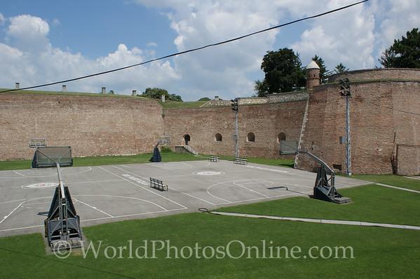 Belgrade - Belgrade Fortress - Kalemegdan Park - Courtyard