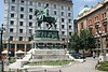 Belgrade - Republic Square - Statue of Prince Mihailo III