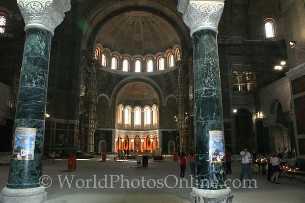 Belgrade - Cathedral of Saint Sava - Interior (Unfinished) 1