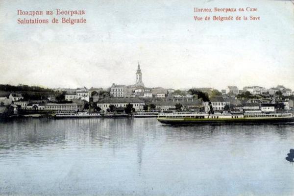 Belgrade from the Sava