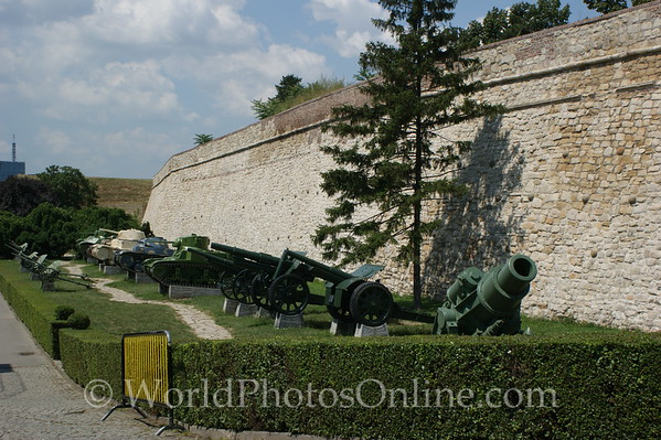 Belgrade - Belgrade Fortress - Armament Display 1