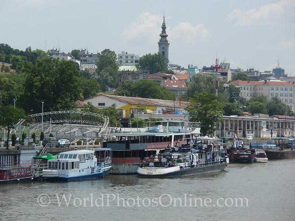 Belgrade - View from Danube