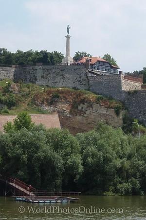 Belgrade - Belgrade Fortress - Monument to 'The Victor' - protector of Belgrade