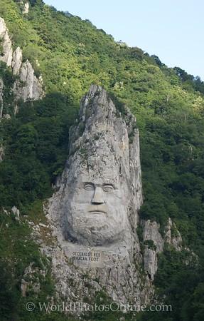 Iron Gate - Dacian Chief Decebalus