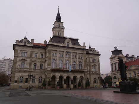 City Hall, Novi Sad - Serbia