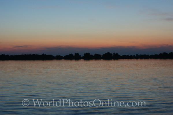 Danube - Sunset