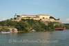 Petrovaradin - Petrovaradin Fortress from the Danube