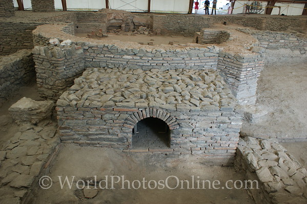 Viminacium - Public Baths - Water Furance for Pools