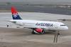 "A6-SAA Airbus A319-132 ""Air Serbia"" c/n 1140 Dusseldorf/EDDL/DUS 05-03-14"
