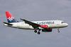 """YU-APE Airbus A319-131 """"Air Serbia"""" c/n 3252 Amsterdam/EHAM/AMS 21-06-14"""