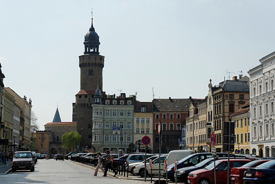 """Kaiser Trutz"" and Market, Goerlitz"