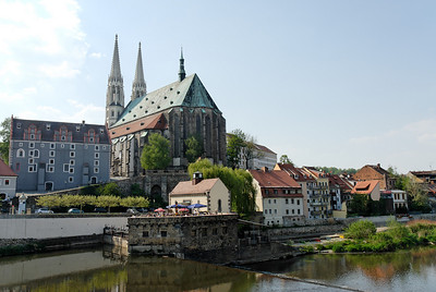 Cathedral from Oder bridge