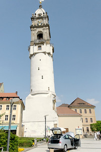 The leaning tower of Bautzen
