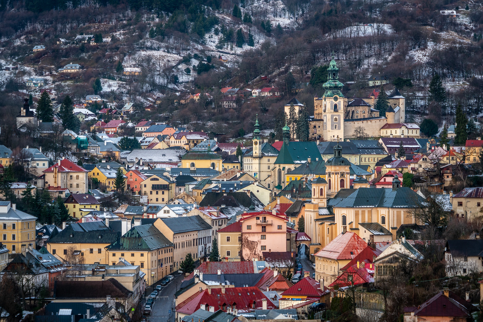 Visiting Banská Štiavnica