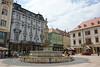 Bratislava - Town Square - Fountain