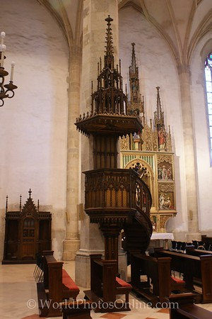 Bratislava - St  Martin's Cathedral - Pulpit