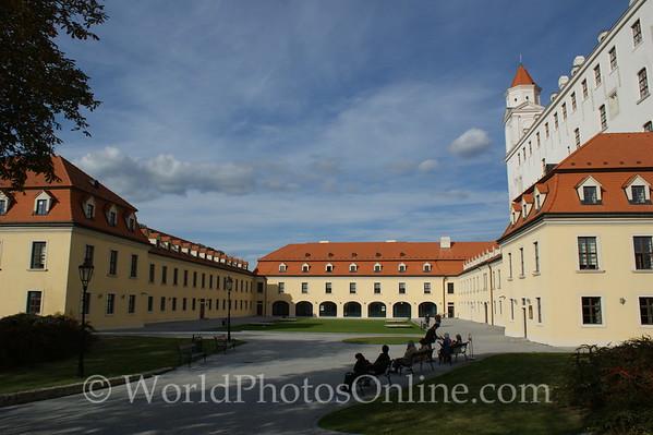 Bratislava - Bratislava Castle - Auxiliary Building