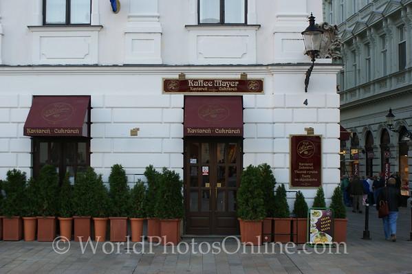Bratislava - Town Square - Kaffee Mayer