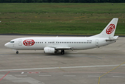 "OM-GTD Boeing 737-46J ""One2Sky"" c/n 27171 Cologne/EDDK/CGN 03-06-17 ""Niki"""