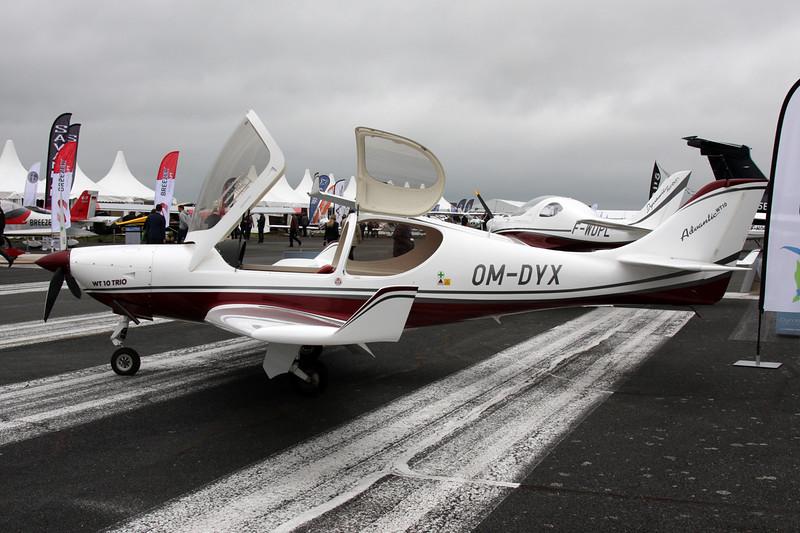 OM-DYX Aerospool WT-10 Advantic c/n WT10/01/2013 Pontoise/LFPT/POX 03-06-16