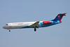 """OM-BYB Fokker 100 """"Government of Slovakia"""" c/n 11368 Brussels/EBBR/BRU 26-03-17"""