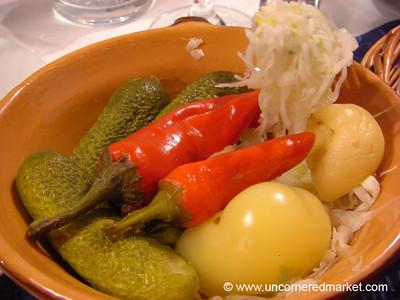 Pickled Veggies - Bratislava, Slovakia