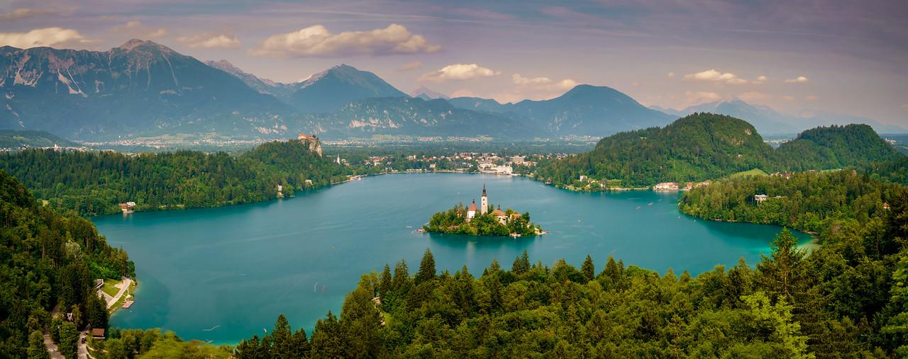 Mesmerizing Lake Bled.